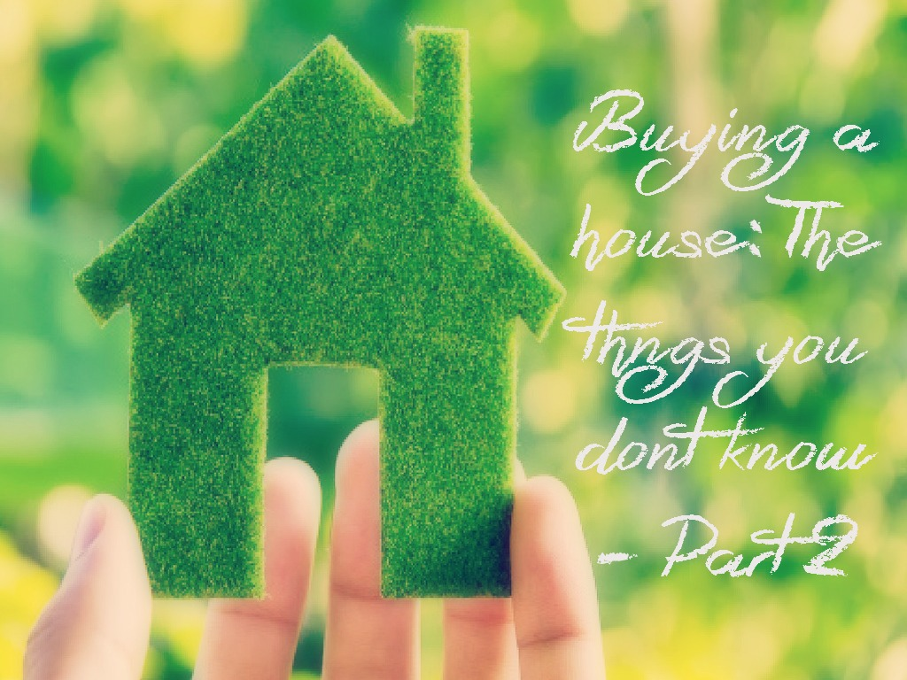 All the things you don't know about buying a house