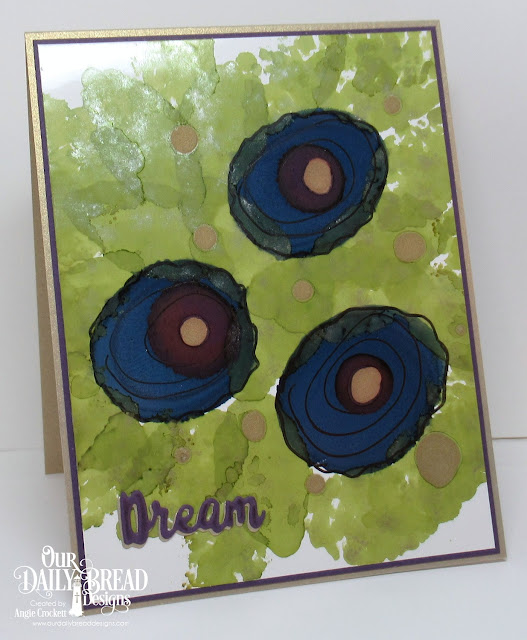 ODBD Custom Inspiration Words Dies, Card Designer Angie Crockett