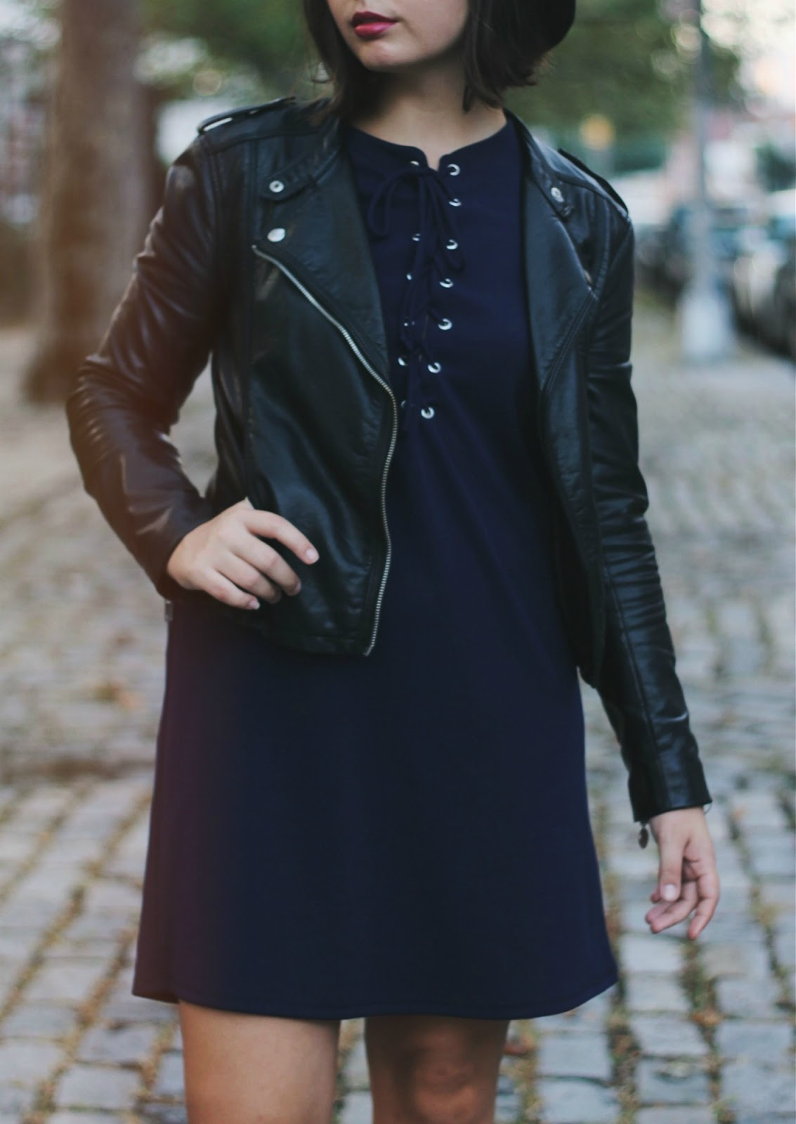 Faux Leather Jacket Outfit | Someone Like You