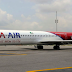 Dana Air plane hits fence at Abuja Airport but no one harmed