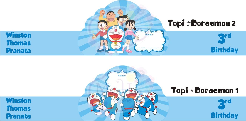 Gambar Undangan Ulang Tahun Doraemon Tulisanviral Info