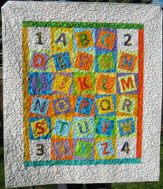 Inch By Inch Quilting Alphabet Soup For Isabel
