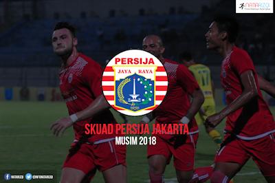 Skuad Pemain Persija Jakarta