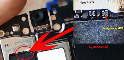 Test Point Oppo A83 CPH1729