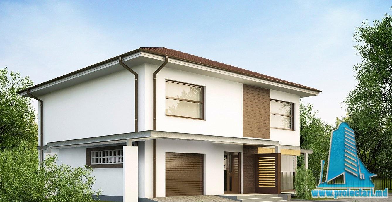 Proiecte de case proiect de casa cu doua etaje 38 for Design in casa