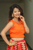 Shubhangi Bant in Orange Lehenga Choli Stunning Beauty ~  Exclusive Celebrities Galleries 043.JPG
