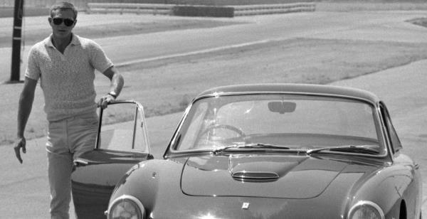 Steve McQueen Ferrari