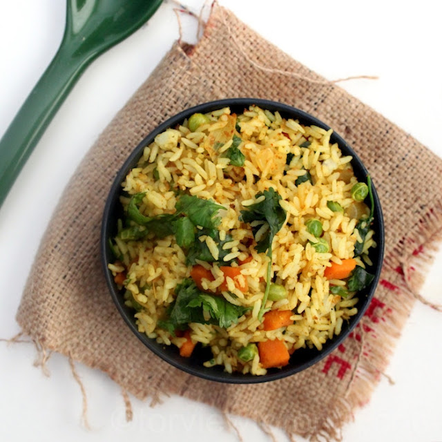 pav bhaji rice