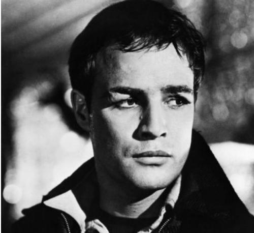 Beautiful Black & White Portraits of young Marlon Brando ...
