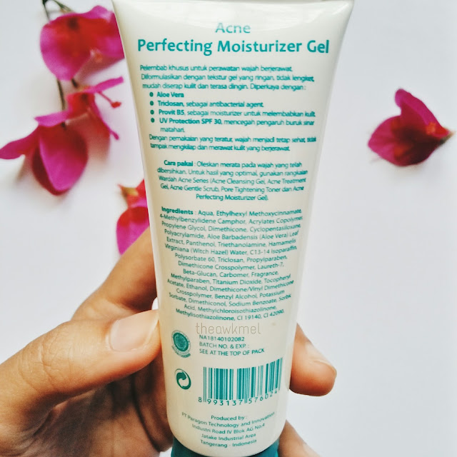 REVIEW: Wardah Perfecting Moisturizer Gel SPF 30