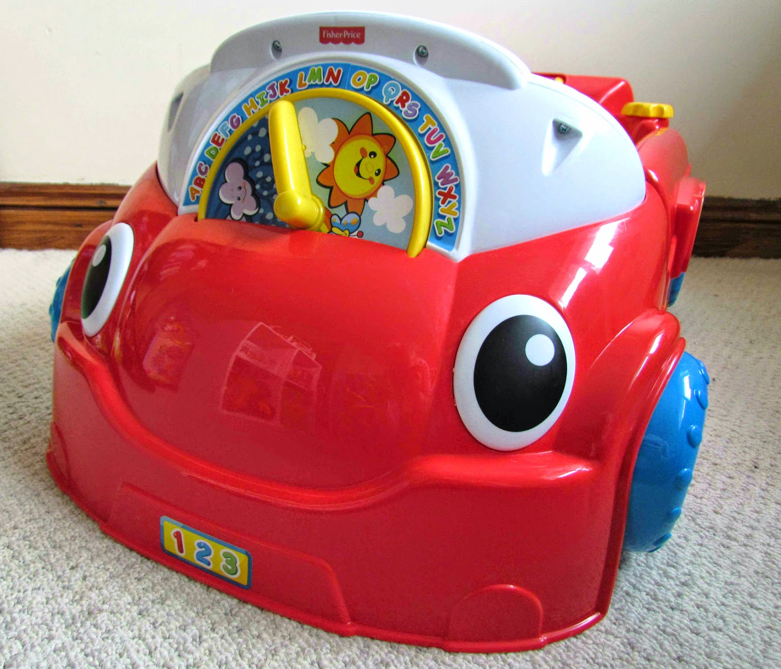fisher price laugh learn smart stages crawl around car. Black Bedroom Furniture Sets. Home Design Ideas