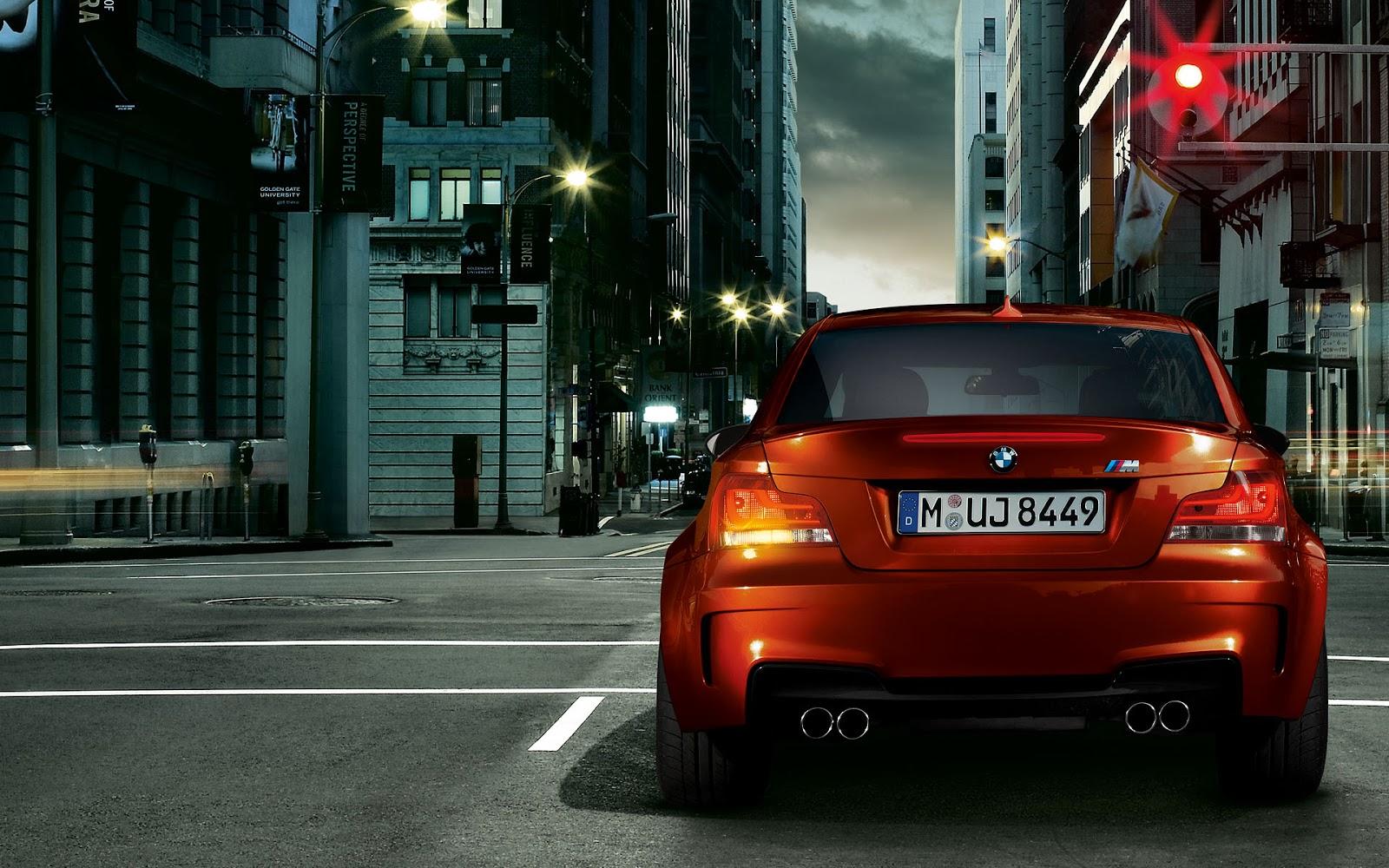 SPORTS CARS: BMW 1M Wallpaper HD
