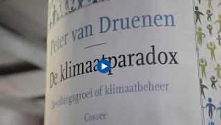 Presentatie Peter van Druenen van zijn boek De Klimaatparadox