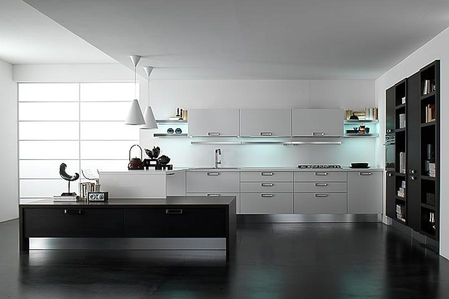 Whit Kitchen Design Table Set