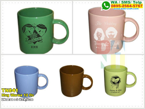 Mug Warna 12 Oz