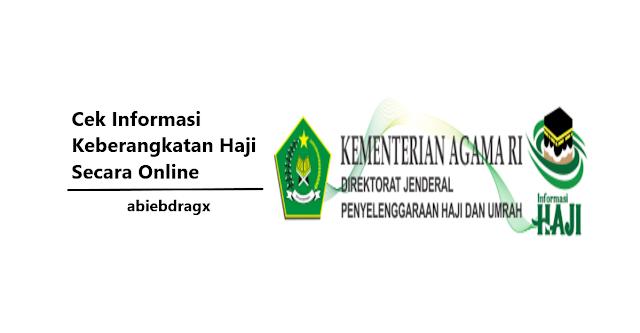 Cara cek informasi keberangkatan haji secara online dengan nomor porsi. Haji mabrur Amiiin. Abiebdragx