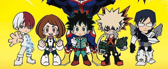 My Hero Academia Smash Spinoff Manga To End This November.