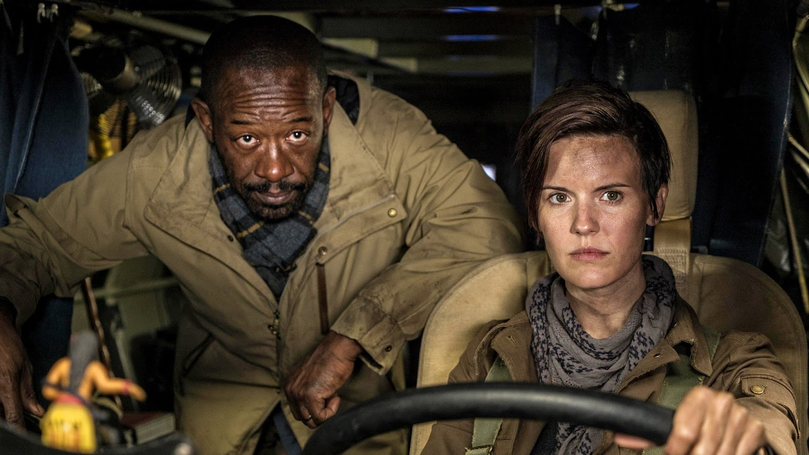 Morgan y Althea, en el episodio 4x01 de Fear The Walking Dead