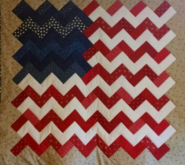 "Craft Warehouse has these great Essential Gems by Wilmington Prints.  Each Essential Gem package has 24 - 2½"" x 44"" strips of fabric.  My favorite is the Yankee Doodle strip pack-red, white and blue! by @craftsavvy"