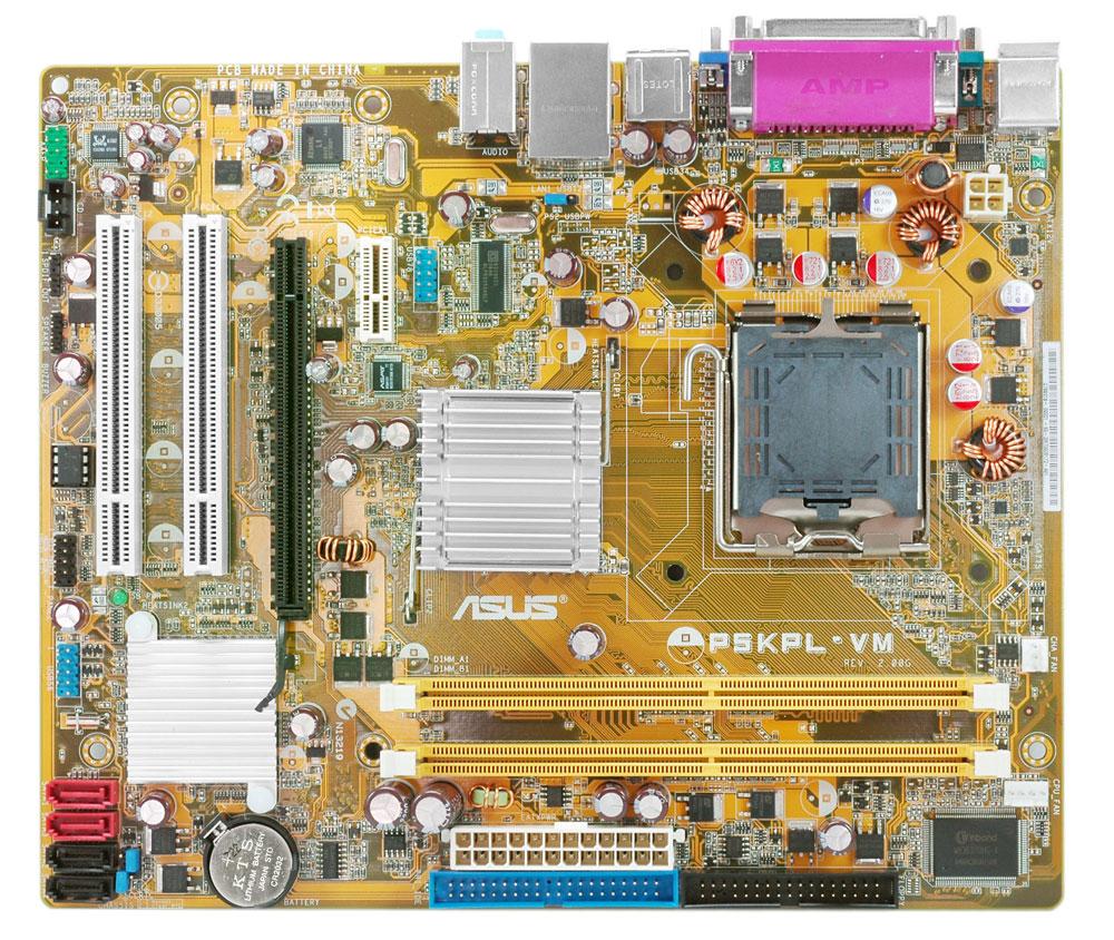 total service manual for asus p5kpl vm desktop motherboard intel lga775 platform [ 1000 x 844 Pixel ]