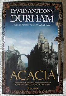Portada del libro Acacia, de David Anthony Durham
