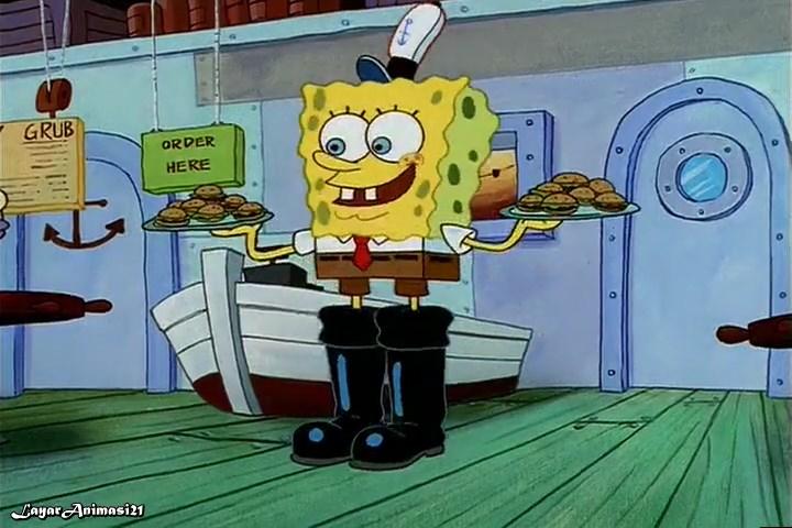 SpongeBob Season 1 Episode 8B - Squaeky Boots SD 480p Dub Indo