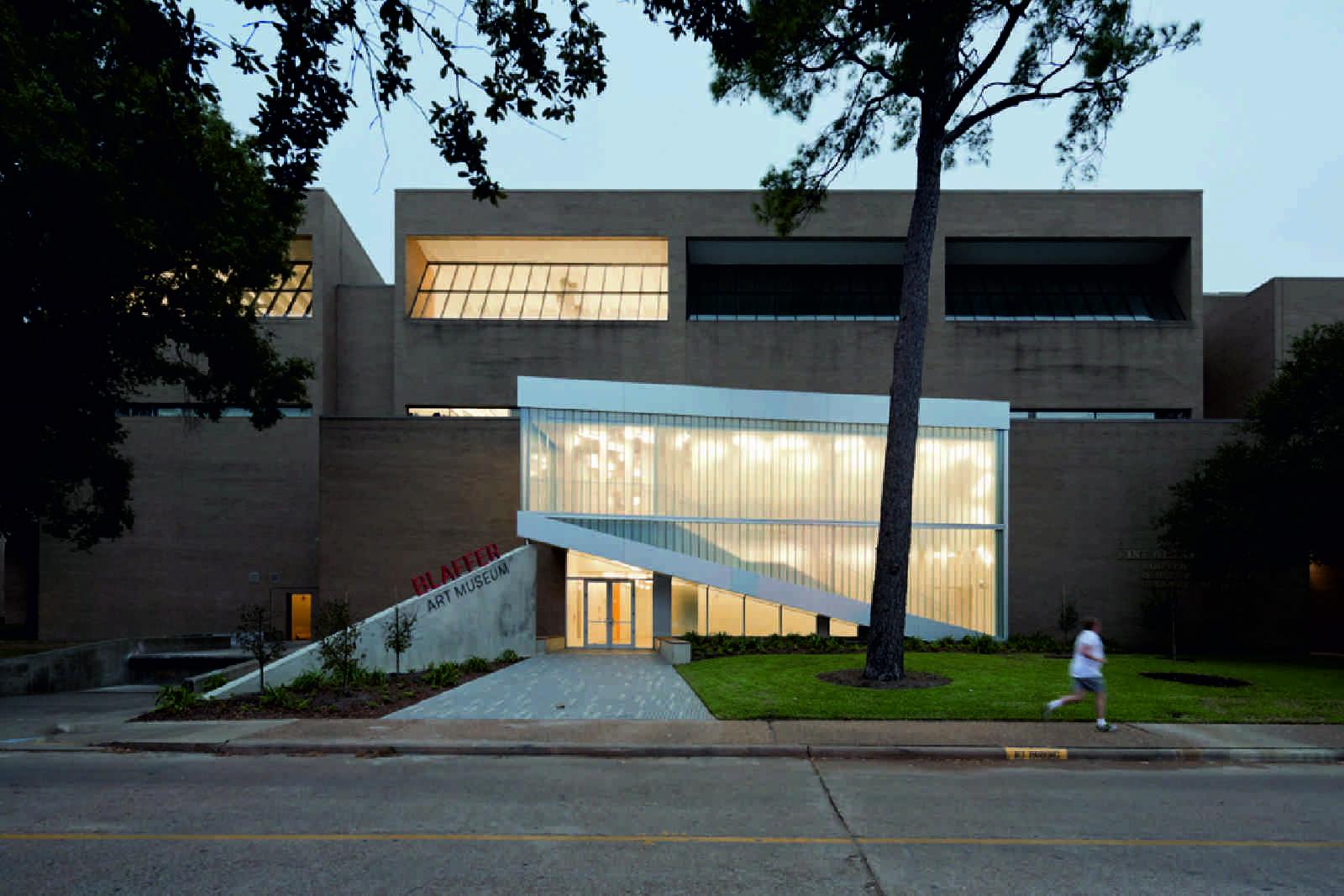Atelier D Architecture Alexandre Dreyssé blaffer art museumworkac – aasarchitecture
