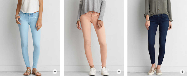 AEO Denim X Super Low Jeggings $30 (reg $50) + free shipping