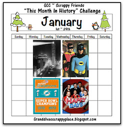 "JANUARY ""THIS MONTH IN HISTORY"" CHALLENGE"