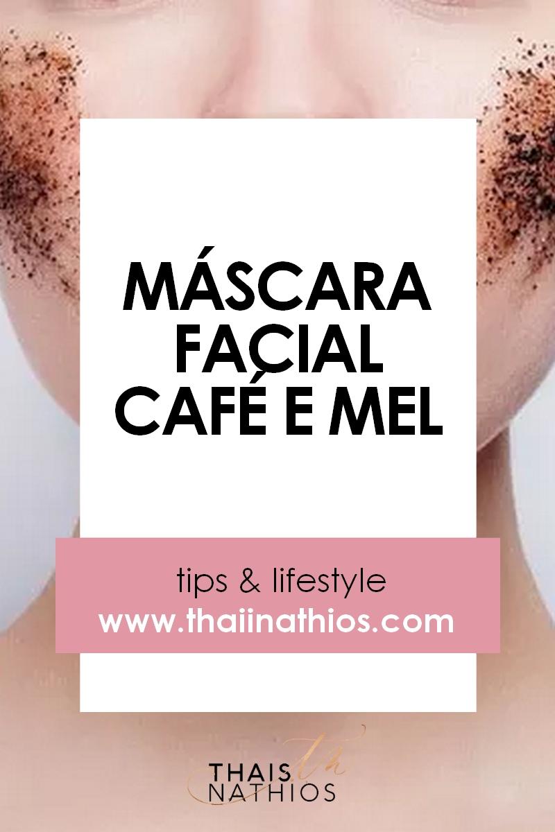 Máscara Facial de Café e Mel