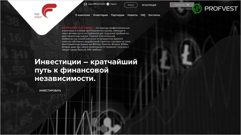 Flex Invest обзор и отзывы HYIP-проекта