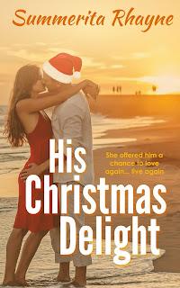 书的封面展示:他的圣诞快乐