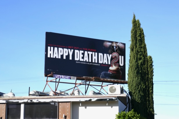 Happy Death Day 2U billboard