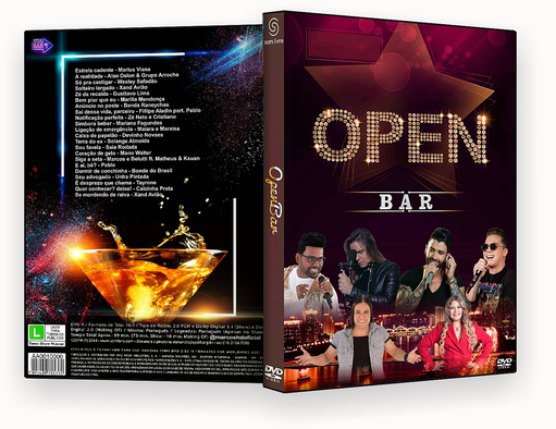CAPA DVD – Open Bar 2018 DVD-R