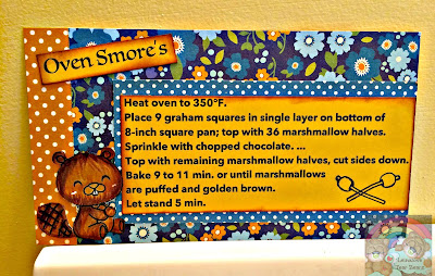 Oven Smore's Recipe Card (Craftin Desert Diva's Guest DT project 2 of 4