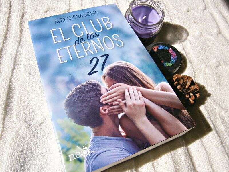 Foto del libro El club de los eternos veintisiete de la autora Alexandra Roma