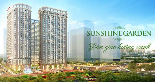 tổng thể chung cư Sunshine Garden