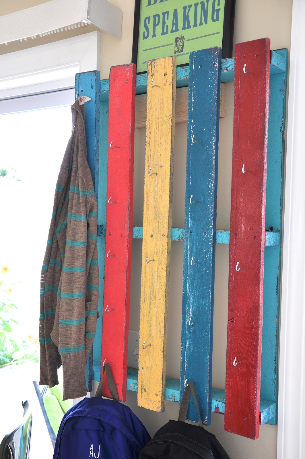 Cool Wall Coat Racks Relaxshacks A Super Cool Recycled Salvaged Forklift