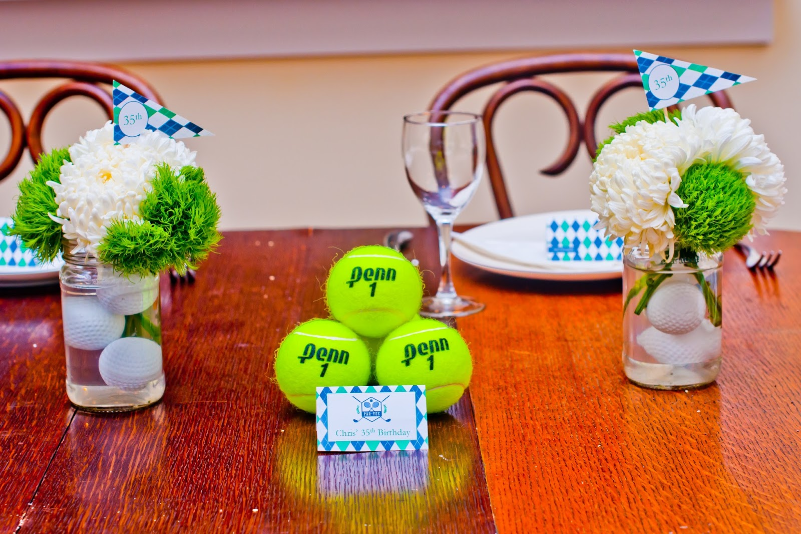 Golf Pros and Tennis Hoes Par-tee