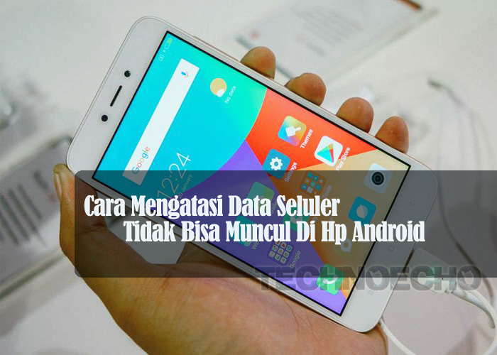 Solusi Data Seluler Tidak Muncul Di Hp Android Technoecho