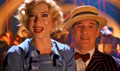Renee Zellweger as Roxie Hart and Richard Gere as Billy Flynn demonstrate how to dramatize a true story in Chicago (2002).