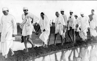 Mahatma Gandhi About Dandi March