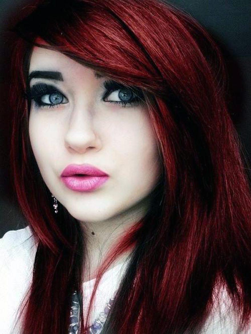 40 Bold & Beautiful Bright Red Hair Color Shades ...