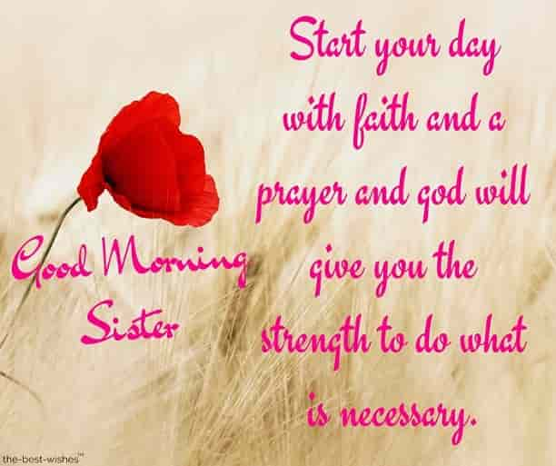 good morning sister love quotes
