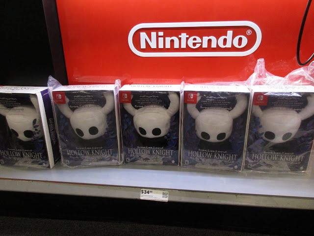Hollow Knight plush plushie digital game download code bundle Nintendo Switch retail