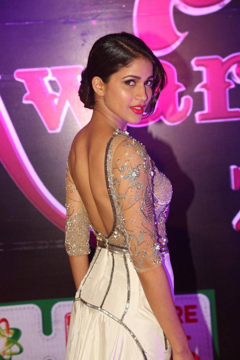 Lavanya Tripathi Stills at Apsara Awards