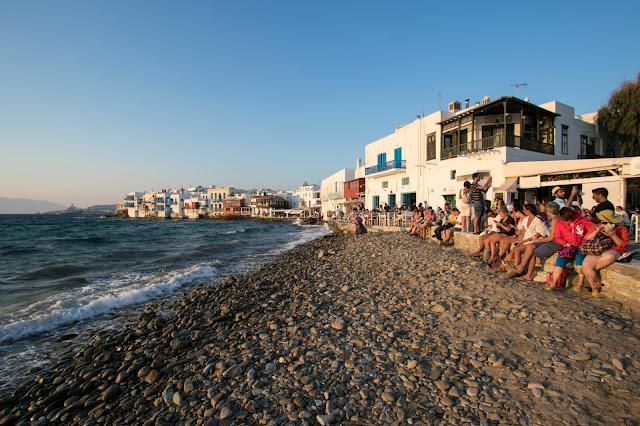 Tramonto a Little Venice-Mykonos town