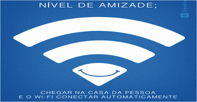 Wifi é amizade