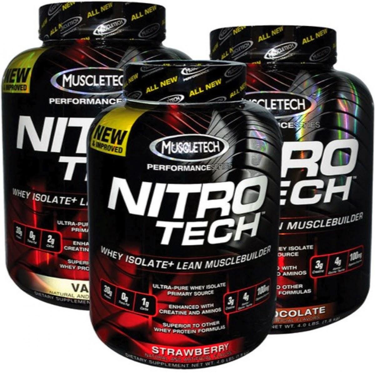 MuscleTech NITRO-TECH Reviews - Bodybuildingcom