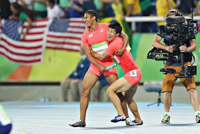 リオオリンピック 陸上男子400mリレー 銀メダル